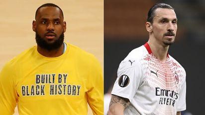 LeBron James mostra a Ibrahimovic que todo grande atleta deve, sim, falar sobre política