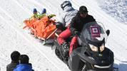 Canadian skier hospitalized after terrifying high-speed crash