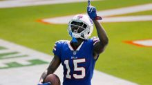 John Brown returns to practice, Jerry Hughes sits out