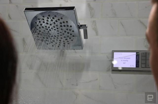 Moen makes Alexa and Siri your shower concierge