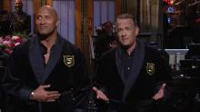 'Saturday Night Live' Recap: Dwayne Johnson and Tom Hanks Rock the Vote