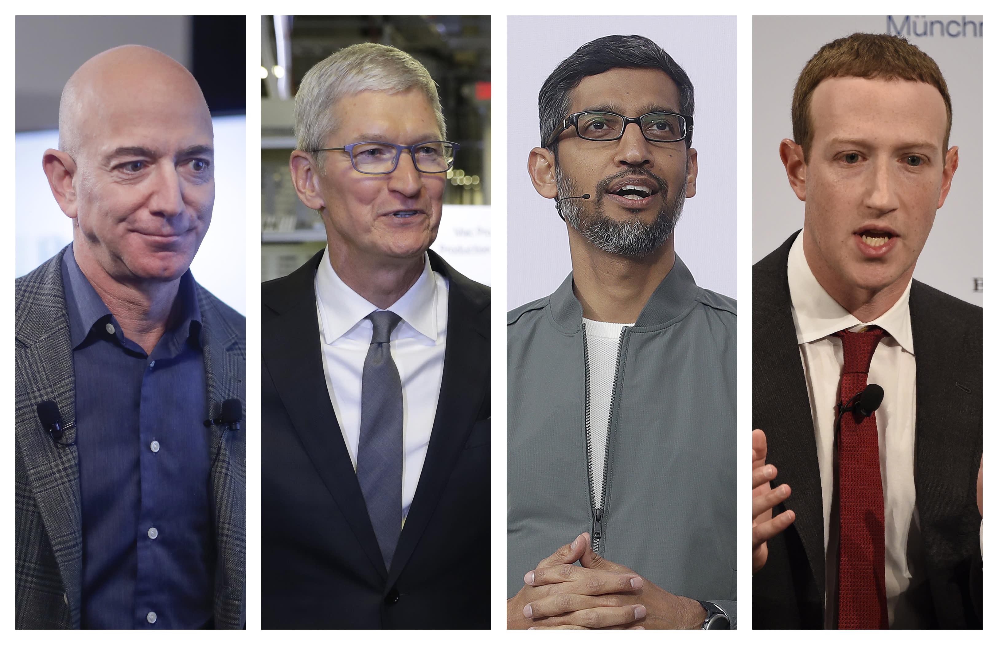 US Congress Tech CEOs