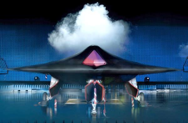 Britain's Ministry of Defence unveils unmanned Taranis combat aircraft