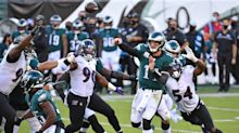 Why Carson Wentz calls Eagles offense's new dimension 'a game changer'