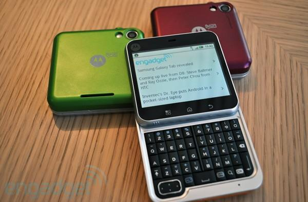 Motorola Charm and Flipout follow CLIQ XT's lead, get stuck in the past