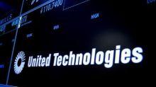 United Technologies Stock Falls 4%