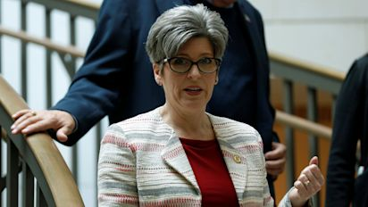 Ernst says she turned down shot to be Trump's VP