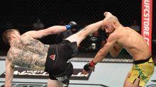 Cory Sandhagen stops Marlon Moraes with spinning wheel kick at UFC Fight Island 5