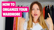 Six easy ways to organise your wardrobe from top stylist Antonia O'Brien