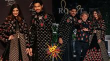 Sidharth Malhotra and Diana Penty Walk the Ramp for Rohit Bal at Blenders Pride Fashion Tour