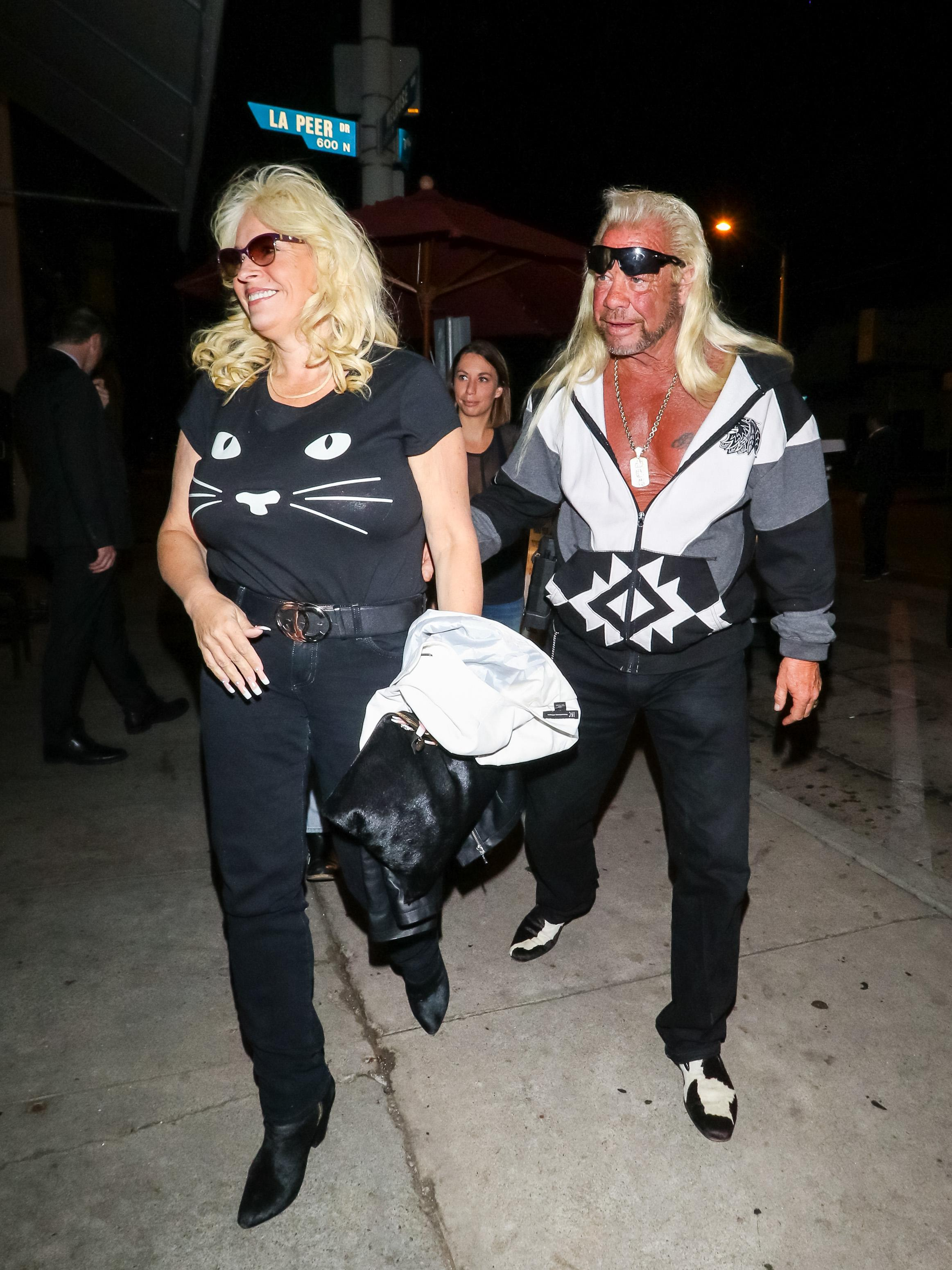 Dog the Bounty Hunter addresses his wife's throat cancer