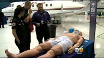 Tour Offers Glimpes Into Medical Evacuation Aircraft