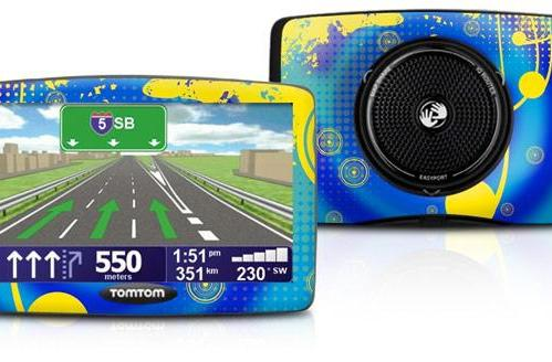 Cafepress teams with TomTom to slather your GPS in color, make it totally unsellable