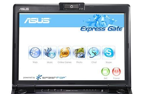 DeviceVM's Splashtop comes to ASUS laptops as Express Gate