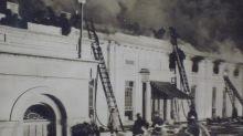 Cuando en la Nochebuena de 1929 se produjo un incendio en la Casa Blanca