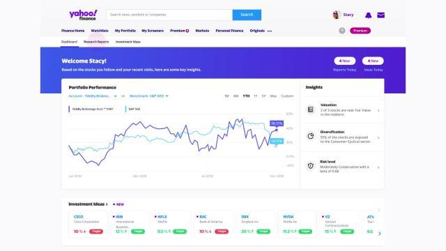Yahoo Finance Premium
