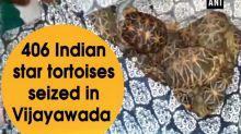 406 Indian star tortoises seized in Vijayawada