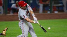 MLB-leading Trout fuels Angels, Dodgers fall to Diamondbacks