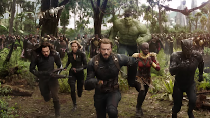 How many characters will be in 'Infinity War'?