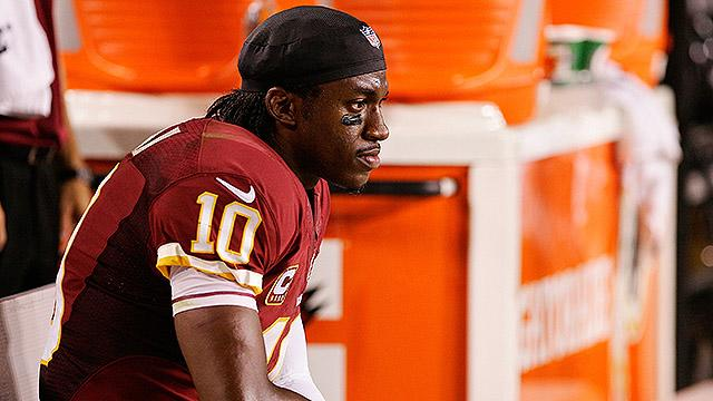 Is benching RG3 the right move for 'Skins?