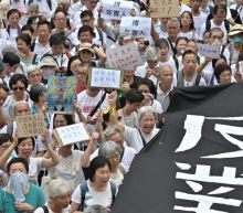 Hong Kong's 'grey hairs' march to support youth protesters