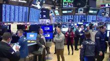 Wall Street climbs on solid jobs data