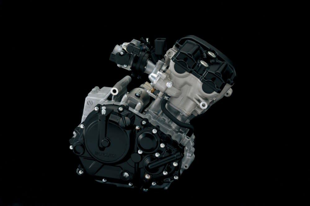147.3cc 、19.2ps 的水冷單缸引擎。