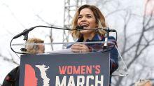 Las celebridades en las Marcha de las Mujeres