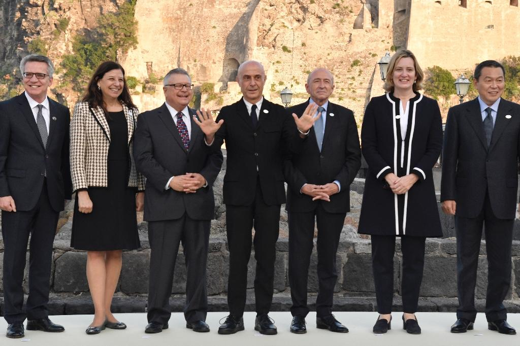 The G7 interior ministers are meeting on the island of Ischia off the coast of Naples