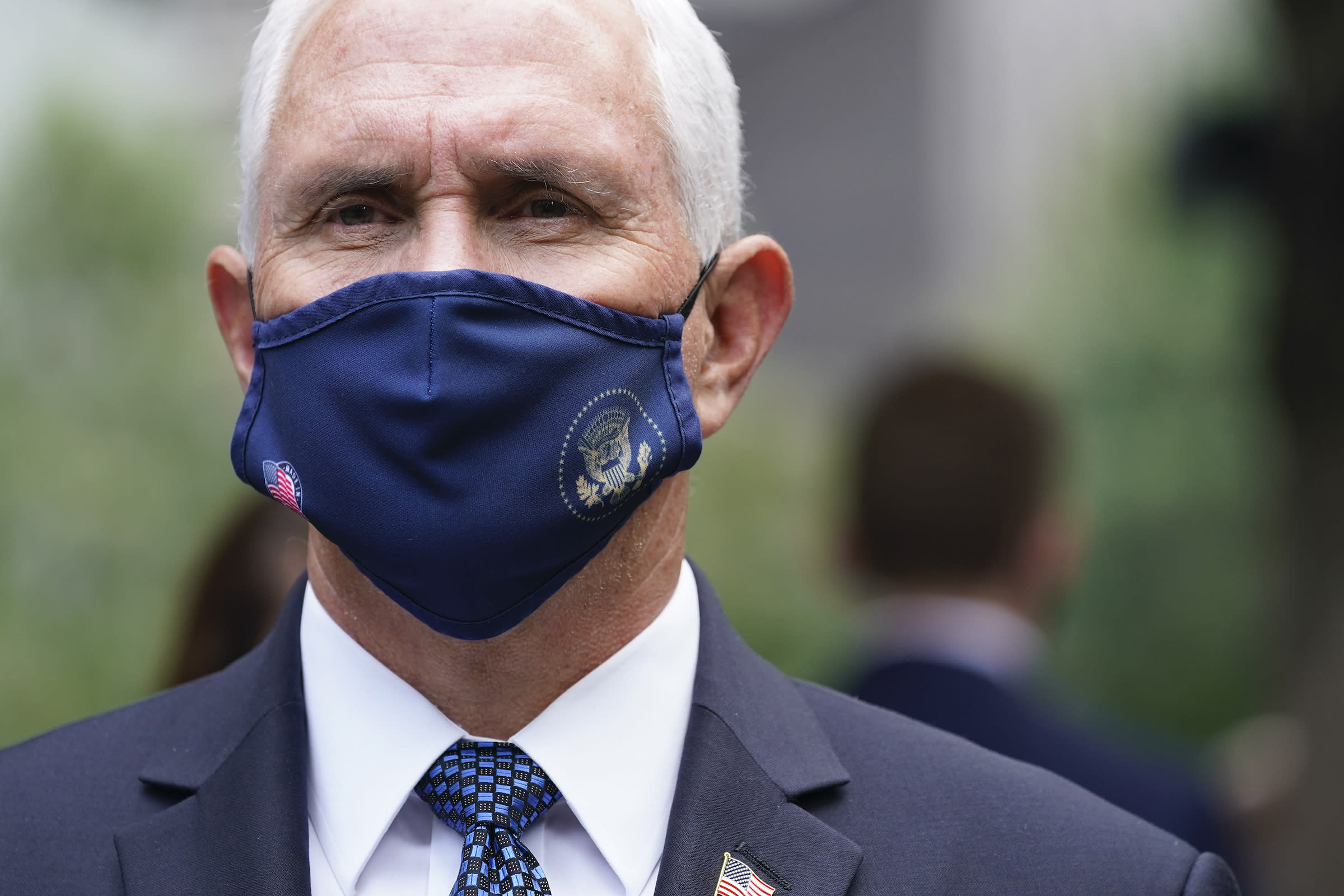 With Donald Trump Hospitalized With COVID-19, Mike Pence Steps Into the Spotlight