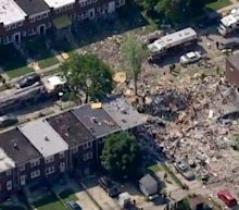 At least five people trapped after 'major explosion' rips through Baltimore neighborhood