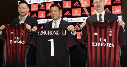 Foot - ITA - AC Milan - Le président de l'AC Milan Li Yonghong hausse le ton