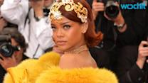 Rihanna's Met Gala Dress Satisfies Internet Munchies