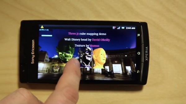 Sony's latest Xperia update brings WebGL support to 2011 smartphone lineup (video)