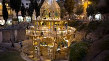Discarded windows give view of Jerusalem's diversity
