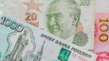 Turkish Lira and Russian Ruble Technical View