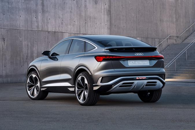 Audi Q4 Sportback e-tron concept ev