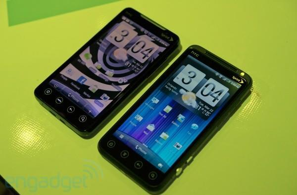 HTC EVO 3D vs. EVO 4G... fight!