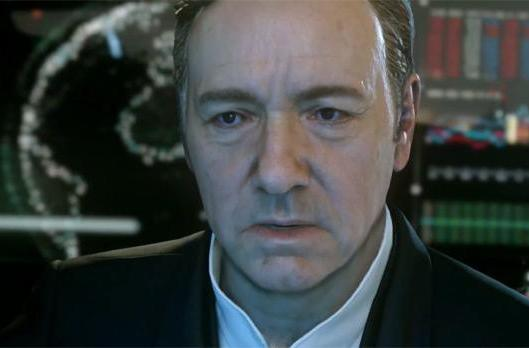Call of Duty: Advanced Warfare is this year's entry, starring Kevin Spacey