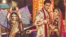Bride Clicked Her Own Pre-Wedding And Wedding Pictures, It's Surprising How She Did It