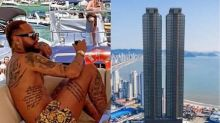 Neymar é dono de três imóveis avaliados em R$ 50 milhões em Santa Catarina