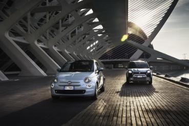 Fiat當家招牌500與Panda車系終於迎來油電系統的加持!