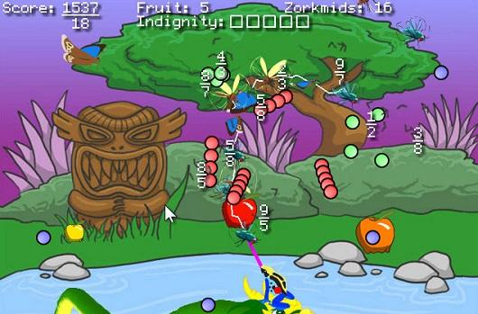 Expect anything but math in zany PC sequel Frog Fractions 2