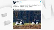 Joe Biden élu: pendant ce temps-là, Donald Trump était parti jouer au golf