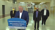Ford prepared to curb 'slow creep' in COVID-19 cases west of Toronto