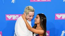 MTV VMAs 2018: Ariana Grande and Pete Davidson make red carpet debut, pack on PDA