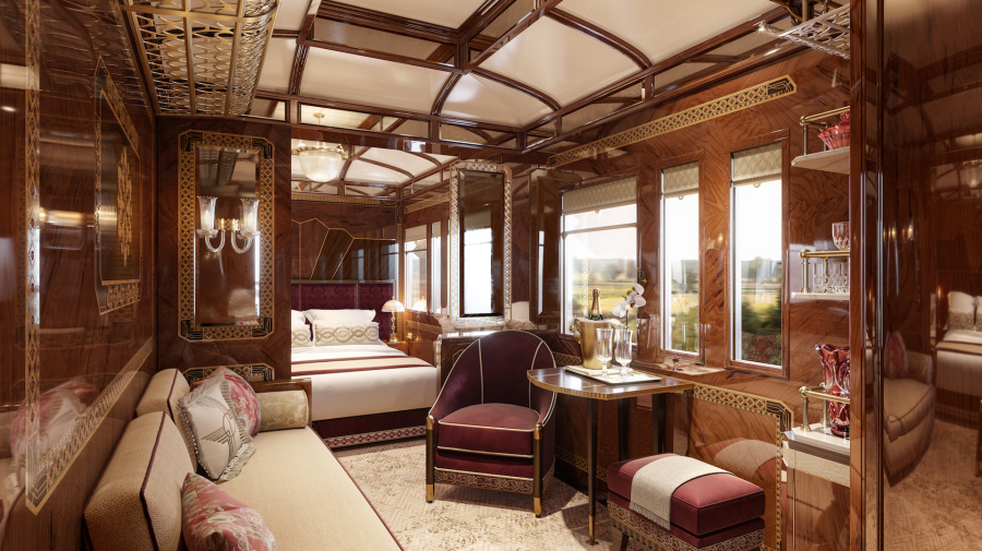 The Orient Express introduces three new suites