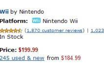 Wii dominates Amazon's video game best sellers of 2009