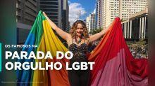 Os famosos que estiveram na Parada LGBT