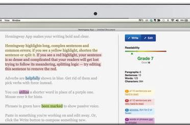 Hemingway text editor comes to the Mac with Markdown support